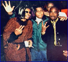 Shock G, Clee & Tupac